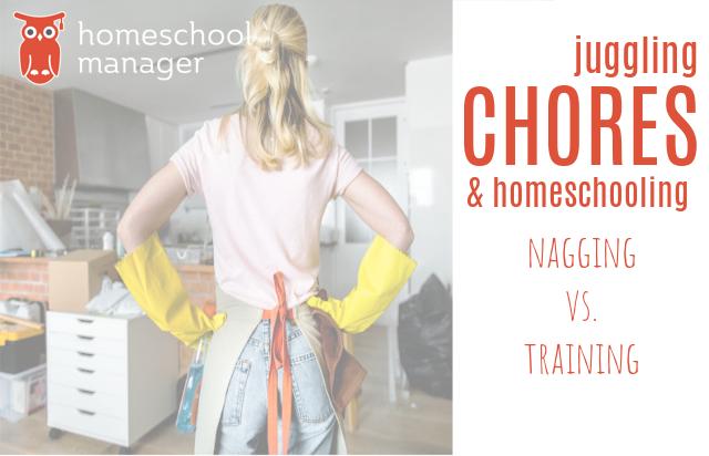 homeschool Manager Chores & Homeschooling