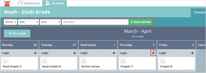 schedule-addtask