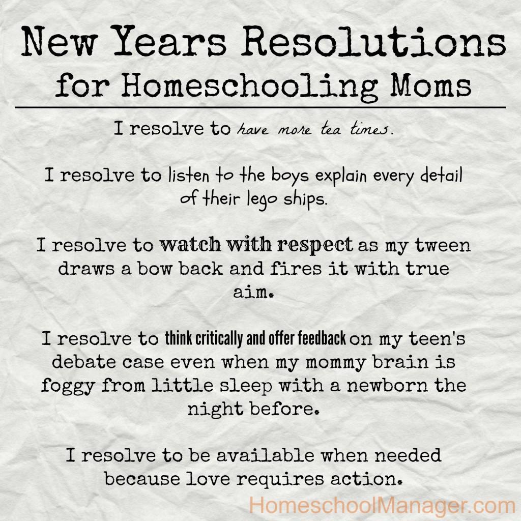 Homeschool-Manager-Resolutions