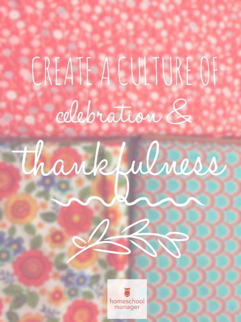 Create a culture of celebration