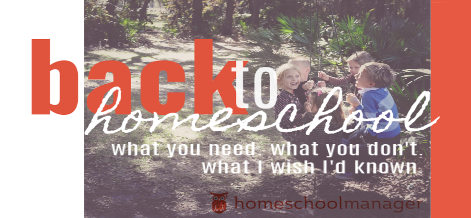 back to homeschool printable list