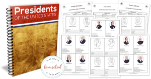 Homeschool Free Printables Presidents of the United States