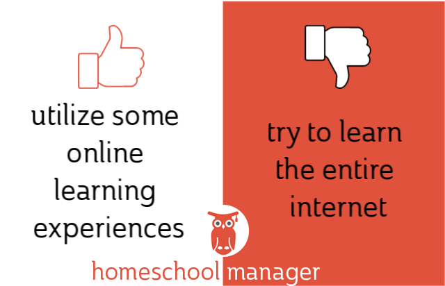Homeschool dos & donts online learning